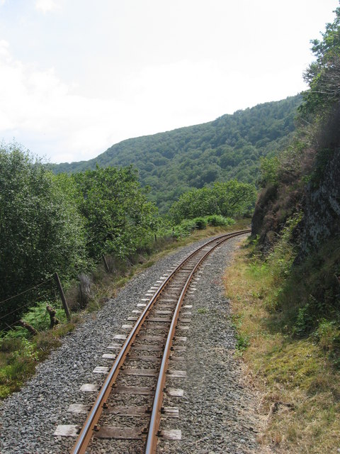Vale of Rheidol Railway: between Rhiwfron and Rheidol Falls