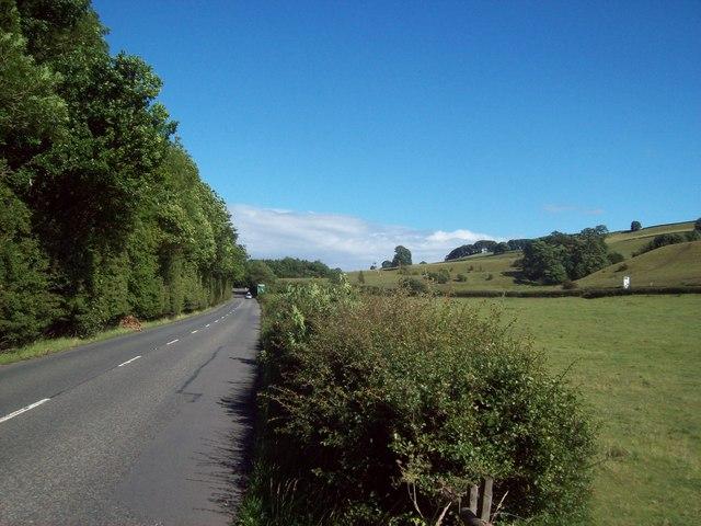 A6020 near Bakewell