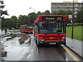 TQ2174 : Buses in Roehampton by Stacey Harris