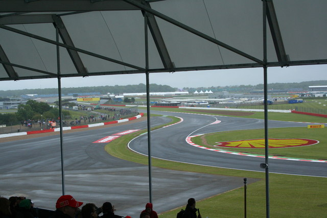Becketts stand silverstone david ashcroft cc by sa 2 0 geograph britain and ireland - Hangar straight silverstone ...