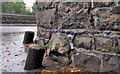 J2664 : Wall protection, Lisburn by Albert Bridge
