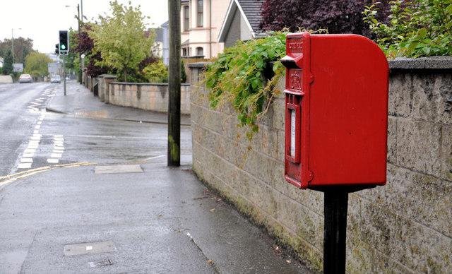 Letter box, Lisburn