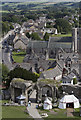 SY9681 : Corfe from the castle : Week 28