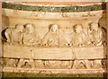 NT2473 : Central section of The Last Supper, St. Cuthbert's Kirk by kim traynor