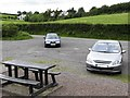 H6907 : Car Park and Picnic Area at the western end of Lough Sillan by Eric Jones