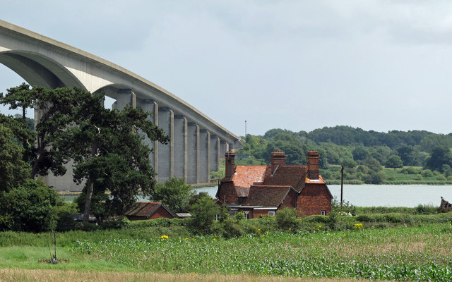 House by the bridge