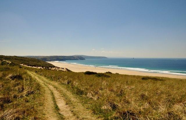 Carrick : Coast Path & Perran Beach