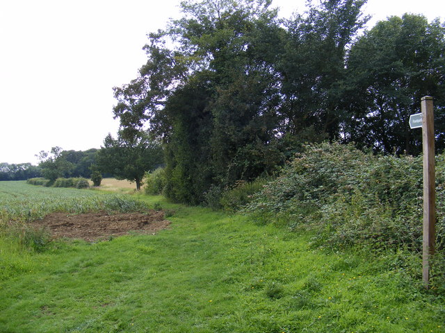 Footpath to Caters Road