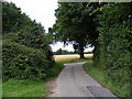 TM2654 : Pound Lane looking towards the junction with Wood Lane by Adrian Cable