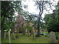 NZ3441 : St Cuthbert's Churchyard, Shadforth by Robert Graham