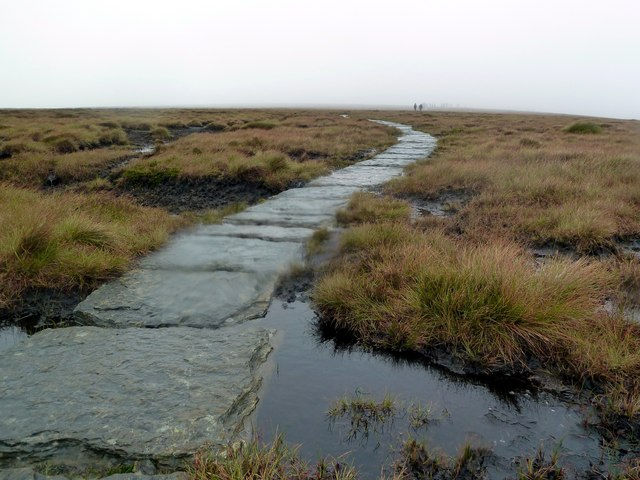 The Pennine Way at Ashop Head