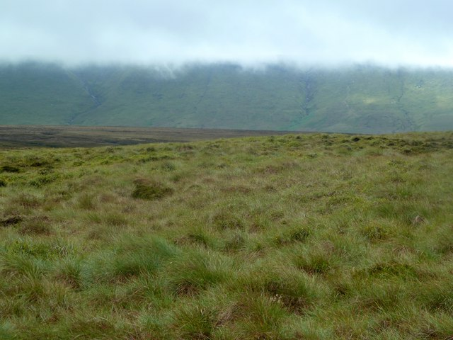 Under the clouds on Featherbed Moss