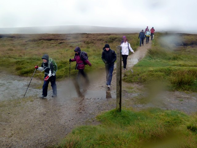The Pennine Way at Old Woman