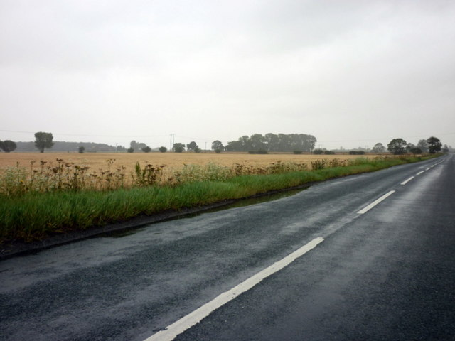 Greenlands Lane towards Selby