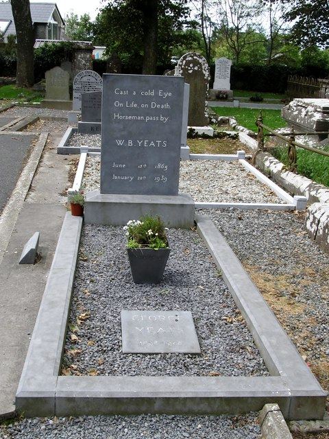 The Grave Of W B Yeats At Drumcliff Eric Jones
