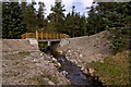 NO7686 : Bridge over the Burn of Finglennie by Alan Findlay