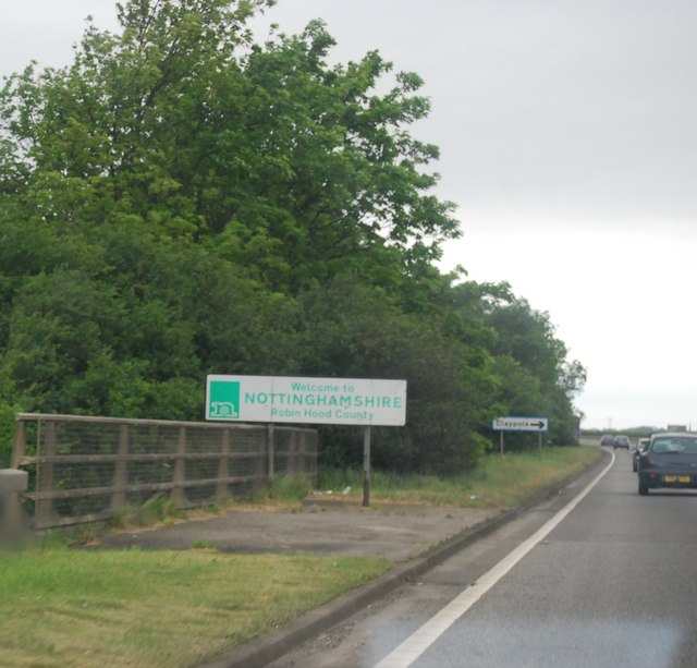Entering Nottinghamshire, Shire Bridge