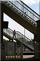 SK5336 : Platform steps at Beeston Station by David Lally