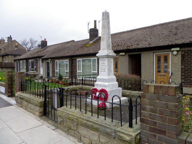 Butterknowle War Memorial