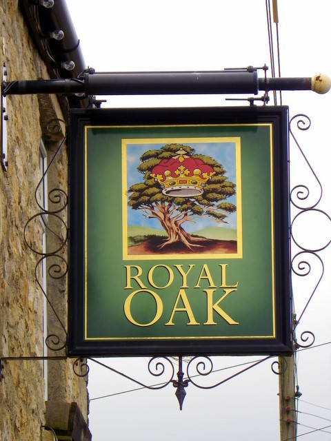 Sign for the Royal Oak