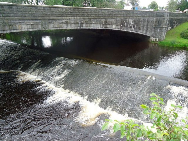 Bridge of Allan, Allan Water