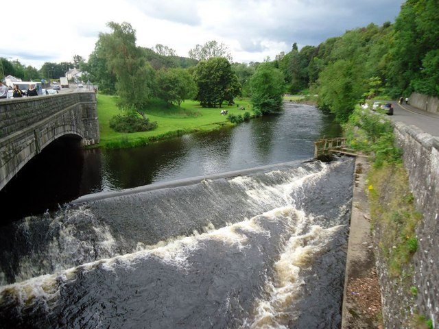 Bridge of Allan, Allan Water [2]