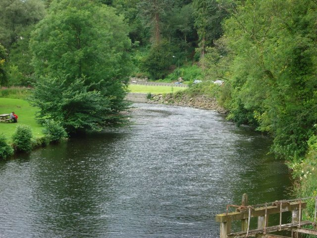 Bridge of Allan, Allan Water [3]