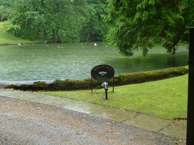Nice weather for ducks at Chantry Mere