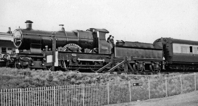 Ex-GWR 'City of Truro' at Didcot