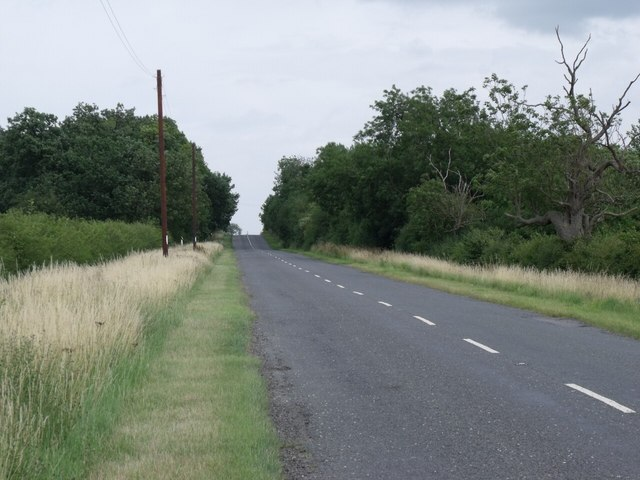 B1191 towards Timberland