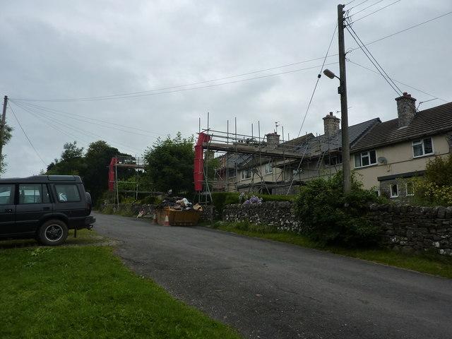 Roof repairs, Grindon