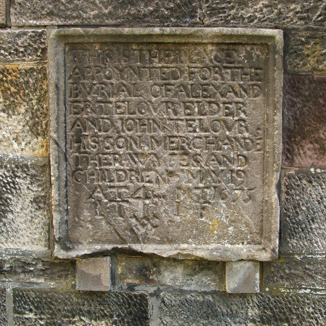 Gravestone of Alexander and John Taylor