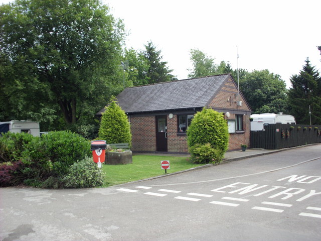 Caravan Club site Chatsworth Park information room
