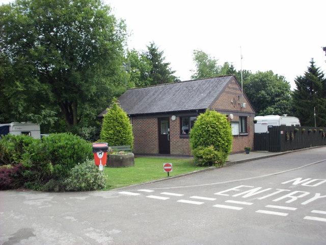 Caravan Club site Chatsworth Park information room