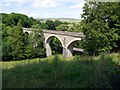 NY9524 : Lune Viaduct near Laithkirk by Andrew Curtis