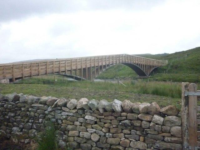 New Pennine Bridleway Bridge