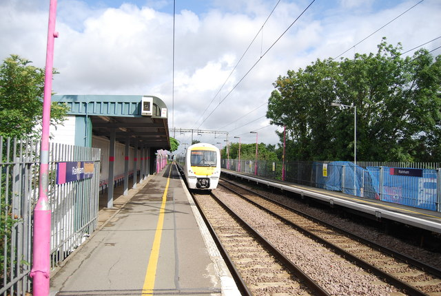 Fenchurch Street train leaving Rainham