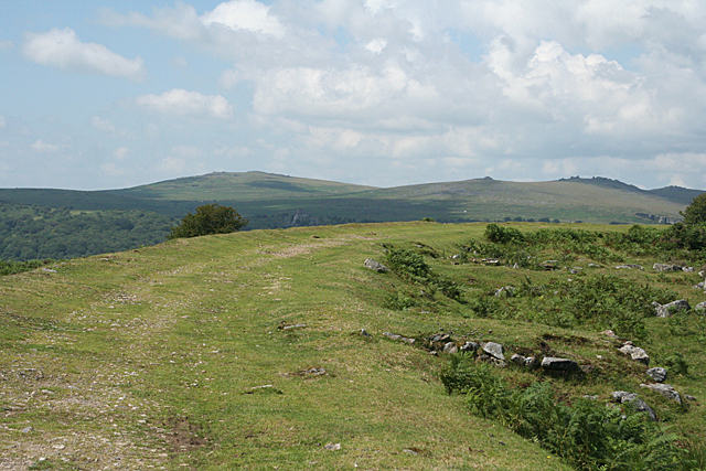 Walkhampton: by Ingra Tor