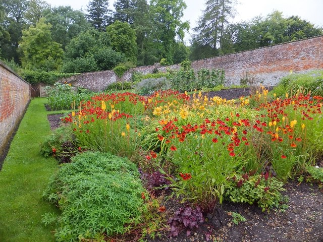 The walled garden at Stourhead