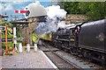 SO7679 : Steam train at Arley Station : Week 29