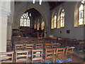 TQ3630 : Interior of All Saints, Highbrook by nick macneill