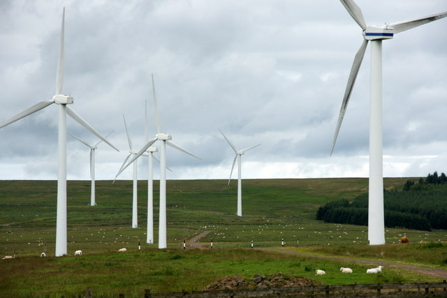 Dun Law East Windfarm