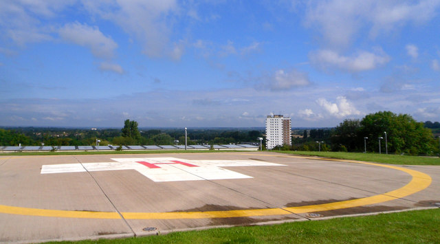 Hospital Helicopter Landing Site