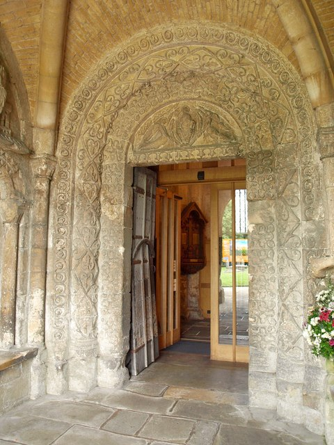Door, Malmesbury Abbey