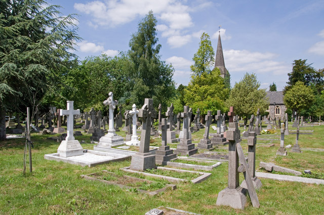 Graveyard, St Nicholas' Church, Chislehurst