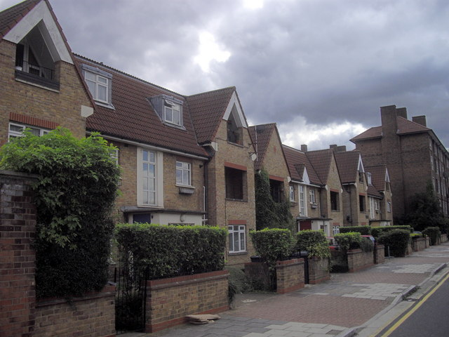 Houses in Oval Way, Vauxhall