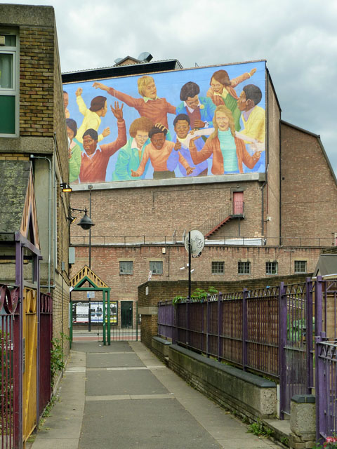 High-level mural, Brixton
