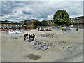 TQ3075 : Skateboard park, Stockwell by Robin Webster