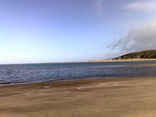 Aberdyfi beach