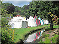 TQ8110 : Tents at Hastings Country Fair by Oast House Archive